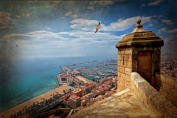alicante spain krepost